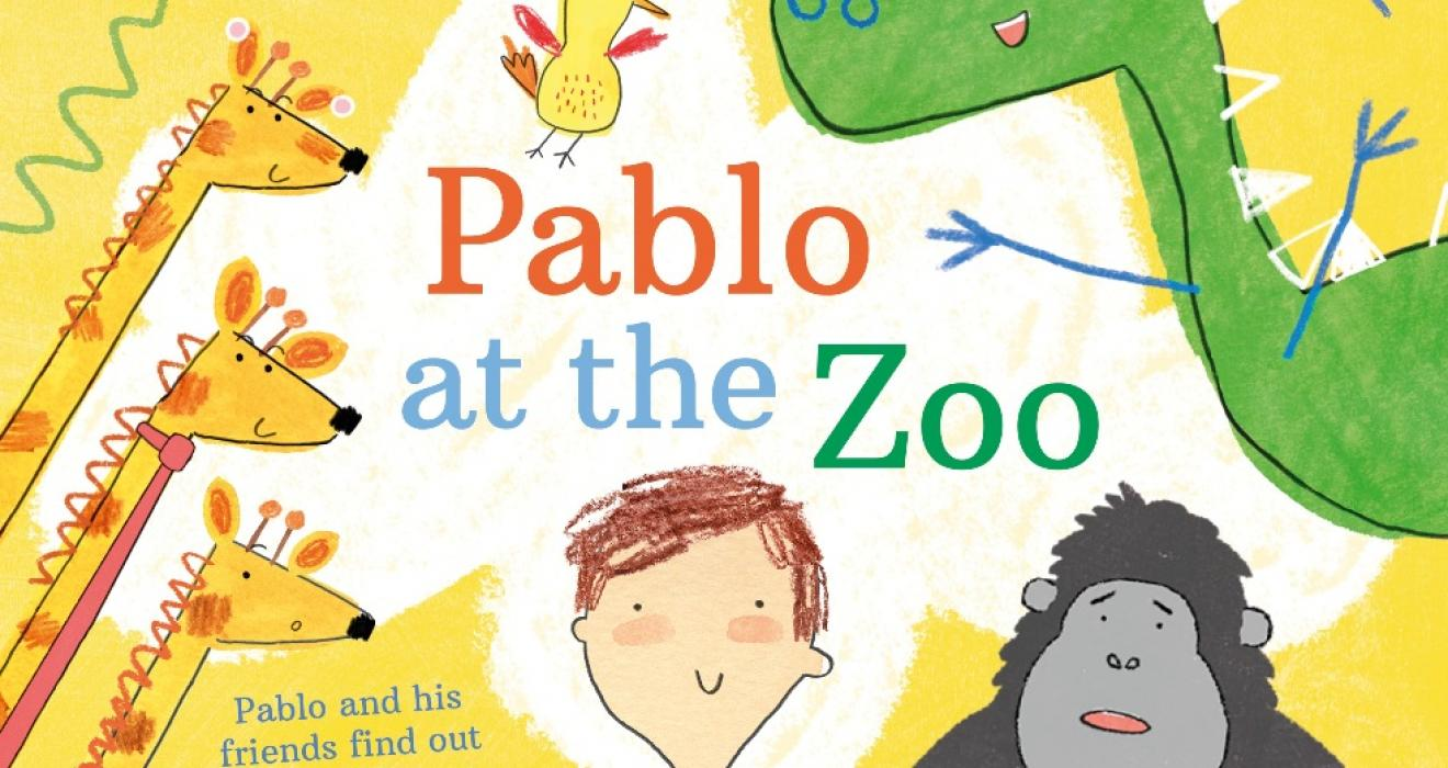 Picture of new all inclusive Pablo at the zoo childrens book