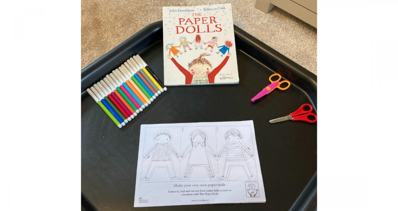 Picture of The Paper Dolls activity