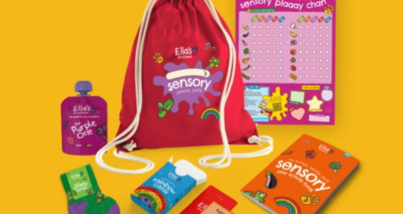 Picture of Ella's kitchen new sensory play pack