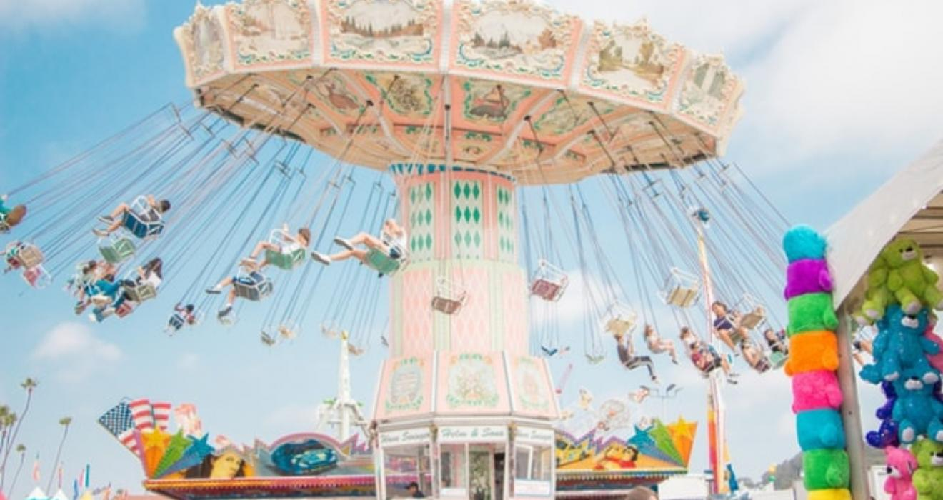 Picture of a funfair