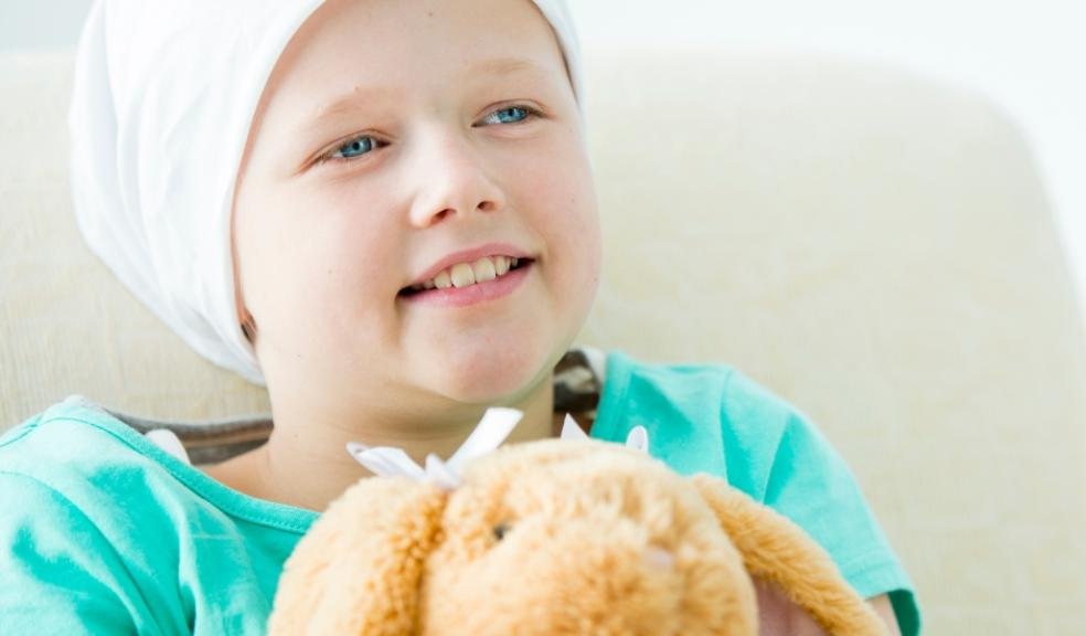 Picture of a child with cancer