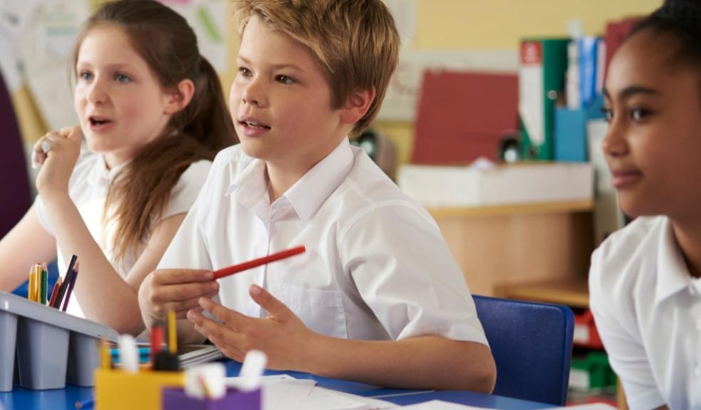Picture of primary school children at school