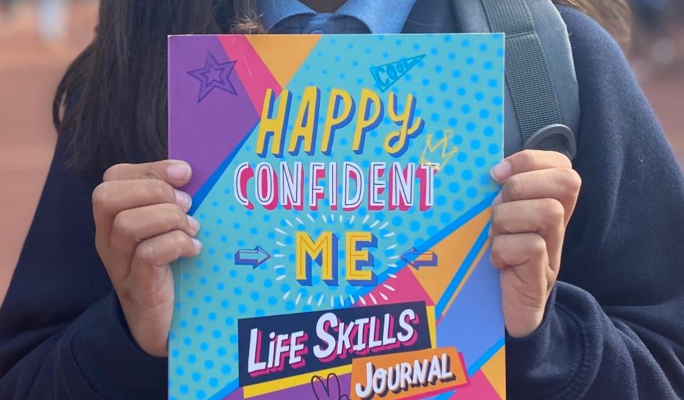 Picture of the new happy confident me life skills journal