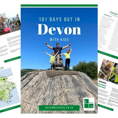 Picture of 101 days out in devon with kids publication