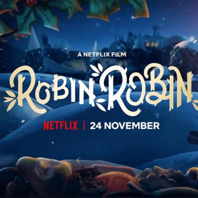 picture of poster for new robin and robin netflix show with twinkl