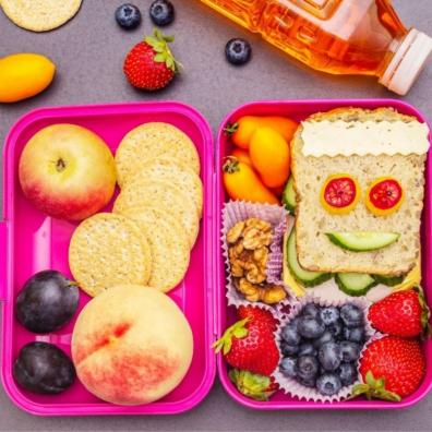 Picture of a funky children's school lunchbox