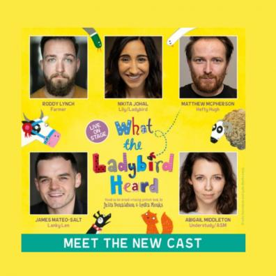 picture of what the ladybird heard theatre cast