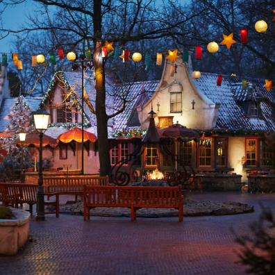 picture of winter at Efteling